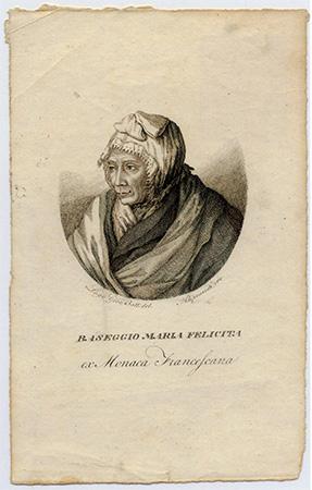 Ritratto Suor Baseggio Accademia dei Concordi Rovigo Stampa n. 332